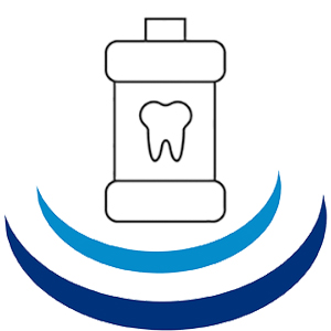 Icon of a toothpaste for oral hygiene at Colfax Dental
